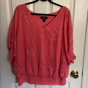 AGB Pink Blouse